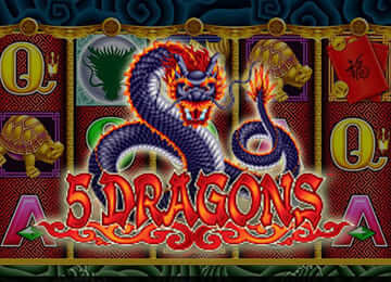 5 Dragons Slots features